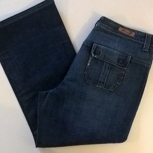 seven 7 jeans size 20 women runs small blue denim